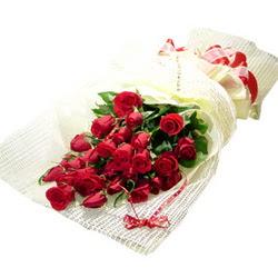 Çiçek gönderme 13 adet kirmizi gül buketi  Muş çiçek satışı
