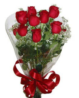 Çiçek sade gül buketi 7 güllü buket  Muş online çiçek gönderme sipariş