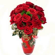 Muş çiçek siparişi sitesi   9 adet kirmizi gül