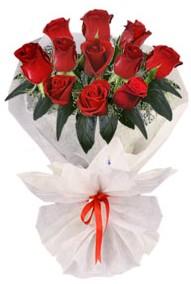 11 adet gül buketi  Muş internetten çiçek siparişi  kirmizi gül
