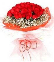 Muş hediye sevgilime hediye çiçek  21 adet askin kirmizi gül buketi