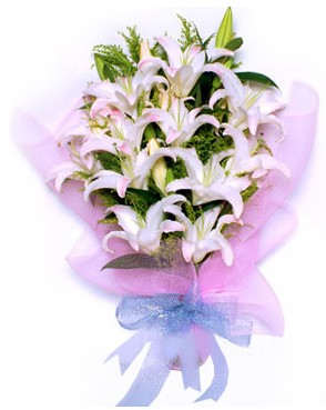 5 dal kazablankadan muhteşem buket  Muş hediye çiçek yolla