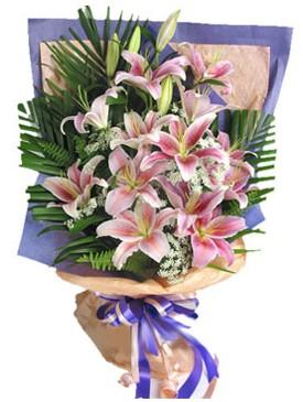 7 dal kazablankadan görsel buket  Muş kaliteli taze ve ucuz çiçekler