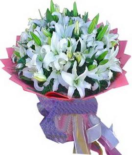 7 dal cazablanca görsel buketi  Muş çiçekçi mağazası