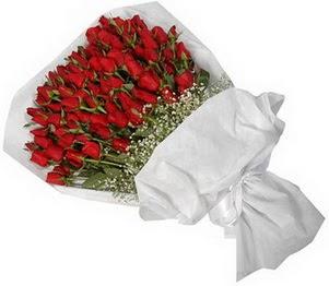 Muş İnternetten çiçek siparişi  51 adet kırmızı gül buket çiçeği