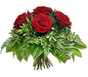 Muş çiçek mağazası , çiçekçi adresleri  5 adet kırmızı gülden buket