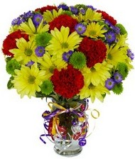 En güzel hediye karışık mevsim çiçeği  Muş hediye çiçek yolla