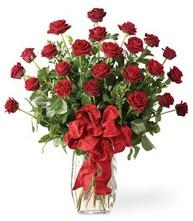Sevgilime sıradışı hediye güller 24 gül  Muş 14 şubat sevgililer günü çiçek