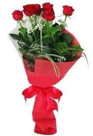 Çiçek yolla sitesinden 7 adet kırmızı gül  Muş internetten çiçek satışı