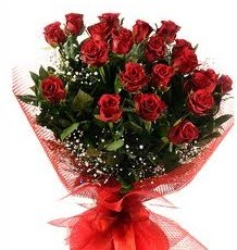 İlginç Hediye 21 Adet kırmızı gül  Muş internetten çiçek siparişi