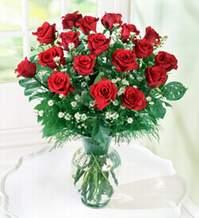 Muş internetten çiçek satışı  9 adet mika yada vazoda kirmizi güller