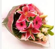 1 dal kazablanka ve mevsim çiçekleri  Muş internetten çiçek siparişi