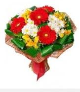 1 demet karışık buket  Muş hediye sevgilime hediye çiçek