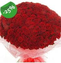 151 adet sevdiğime özel kırmızı gül buketi  Muş çiçek siparişi sitesi