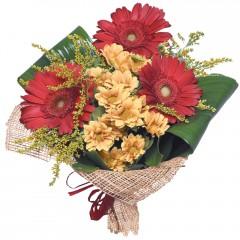 karışık mevsim buketi  Muş çiçekçi mağazası