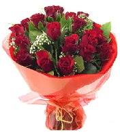 12 adet görsel bir buket tanzimi  Muş çiçek siparişi vermek
