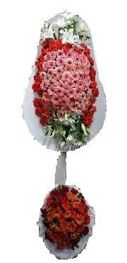 çift katlı düğün açılış sepeti  Muş internetten çiçek satışı