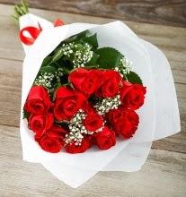 9 kırmızı gülden buket çiçeği  Muş çiçek gönderme