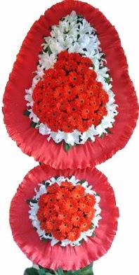 Muş online çiçek gönderme sipariş  Çift katlı kaliteli düğün açılış sepeti
