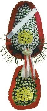 Çift katlı düğün açılış çiçeği  Muş çiçek servisi , çiçekçi adresleri