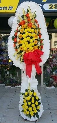 Çift katlı düğün nikah açılış çiçeği  Muş güvenli kaliteli hızlı çiçek