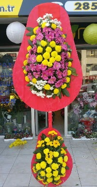 Çift katlı düğün nikah açılış çiçek modeli  Muş online çiçek gönderme sipariş