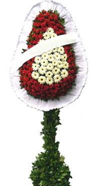Çift katlı düğün nikah açılış çiçek modeli  Muş İnternetten çiçek siparişi