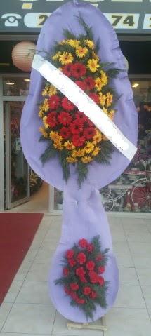 Çift katlı nikah düğüne çiçek modeli  Muş internetten çiçek siparişi