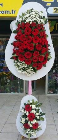 Çift katlı düğün nikah işyeri açılış çiçeği  Muş İnternetten çiçek siparişi