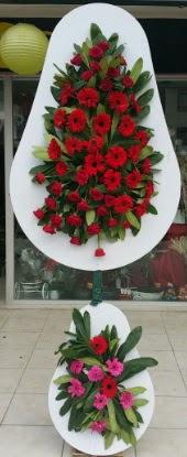 Çift katlı düğün nikah açılış çiçek modeli  Muş internetten çiçek siparişi