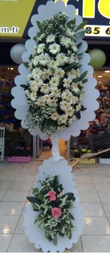 Çift katlı düğün nikah açılış çiçeği  Muş çiçekçi telefonları