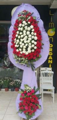 Çift katlı işyeri açılış çiçek modeli  Muş ucuz çiçek gönder