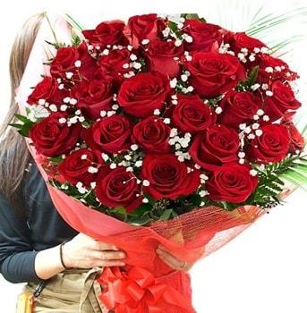 Kız isteme çiçeği buketi 33 adet kırmızı gül  Muş çiçek gönderme sitemiz güvenlidir