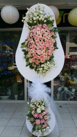 Çift katlı özel şahane sepet çiçeği  Muş çiçekçi telefonları