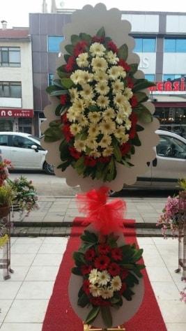 Çift katlı düğün açılış çiçeği  Muş çiçek satışı