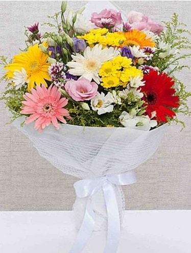 Karışık Mevsim Buketleri  Muş ucuz çiçek gönder