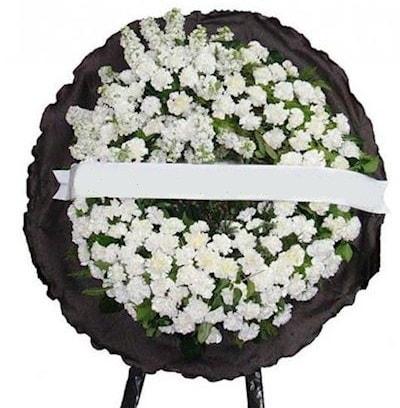 Cenaze çelengi çiçeği modelleri  Muş internetten çiçek satışı