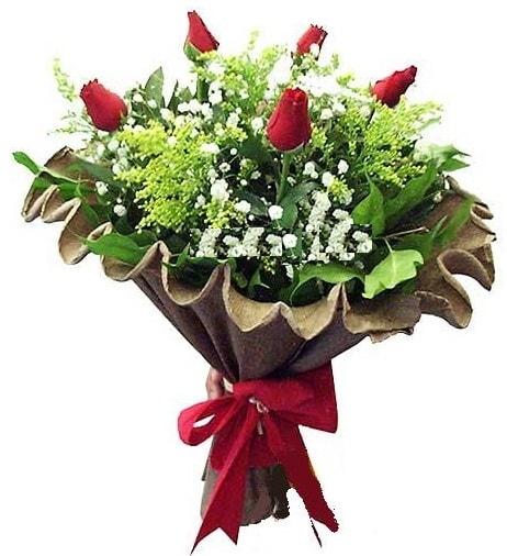 5 adet gülden buket  Muş çiçek gönderme sitemiz güvenlidir