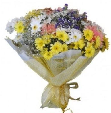 Karışık mevsim çiçeği  Muş çiçek satışı