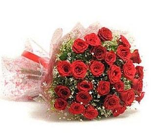27 Adet kırmızı gül buketi  Muş ucuz çiçek gönder