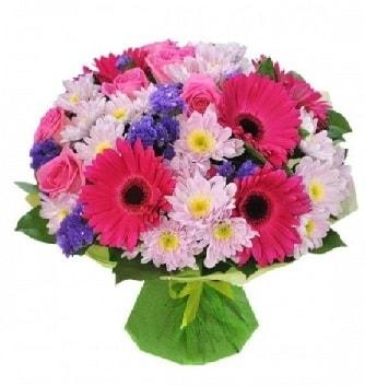 Karışık mevsim buketi mevsimsel buket  Muş çiçek satışı