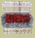 Muş cicekciler , cicek siparisi  Sandikta 11 adet güller - sevdiklerinize en ideal seçim
